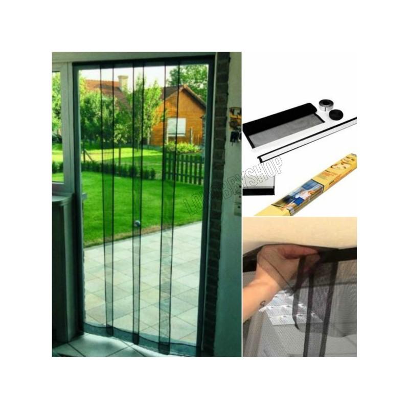 Tenda zanzariera pannelli casamia idea di immagine - Zanzariera finestra fai da te ...