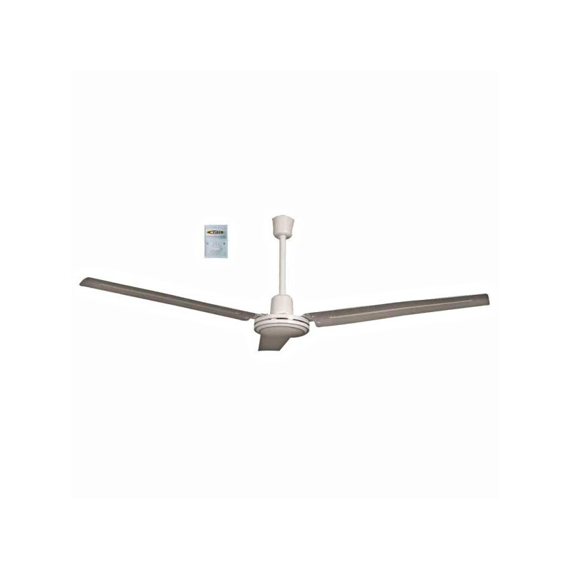 Ventilatore da soffitto 3 pale - Ventilatore da soffitto design ...