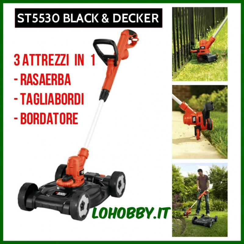 Rasaerba / tagliabordi 3 in 1 ST5530 Black&Decker