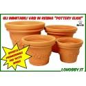 Vasi in resina Pottery Elios Tondi