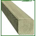 Pali quadrati in legno di pino