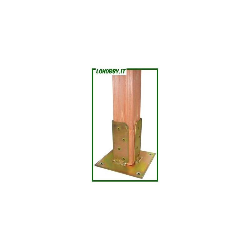 Supporti a pavimento per pilastri in legno