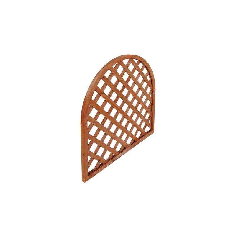 Pannelli grigliati o tralicci ad arco Eco in legno Asia