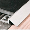 Profili terminali per pavimenti in alluminio