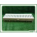 Canalette + griglia di raccolta acque in polipropilene