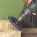 Platorello Velcatro per trapano e smerigliatrice
