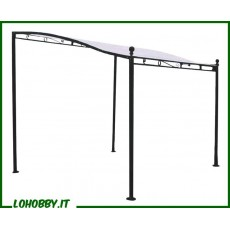 Gazebo pergola in ferro 3mt x 2.5mt