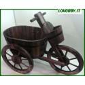 Fioriere Triciclo in legno