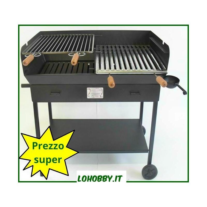 "Barbecue lamiera pesante ""Party"" 90x50xh92"
