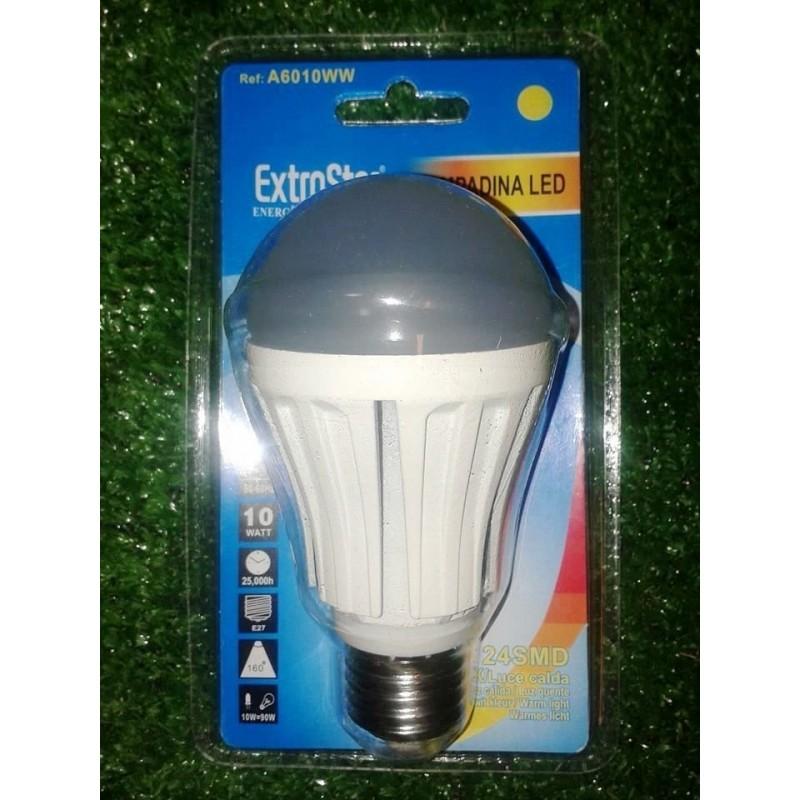 Lampadina led risparmio energetico 10 w resa 90w lampada for Lampade a led lumen