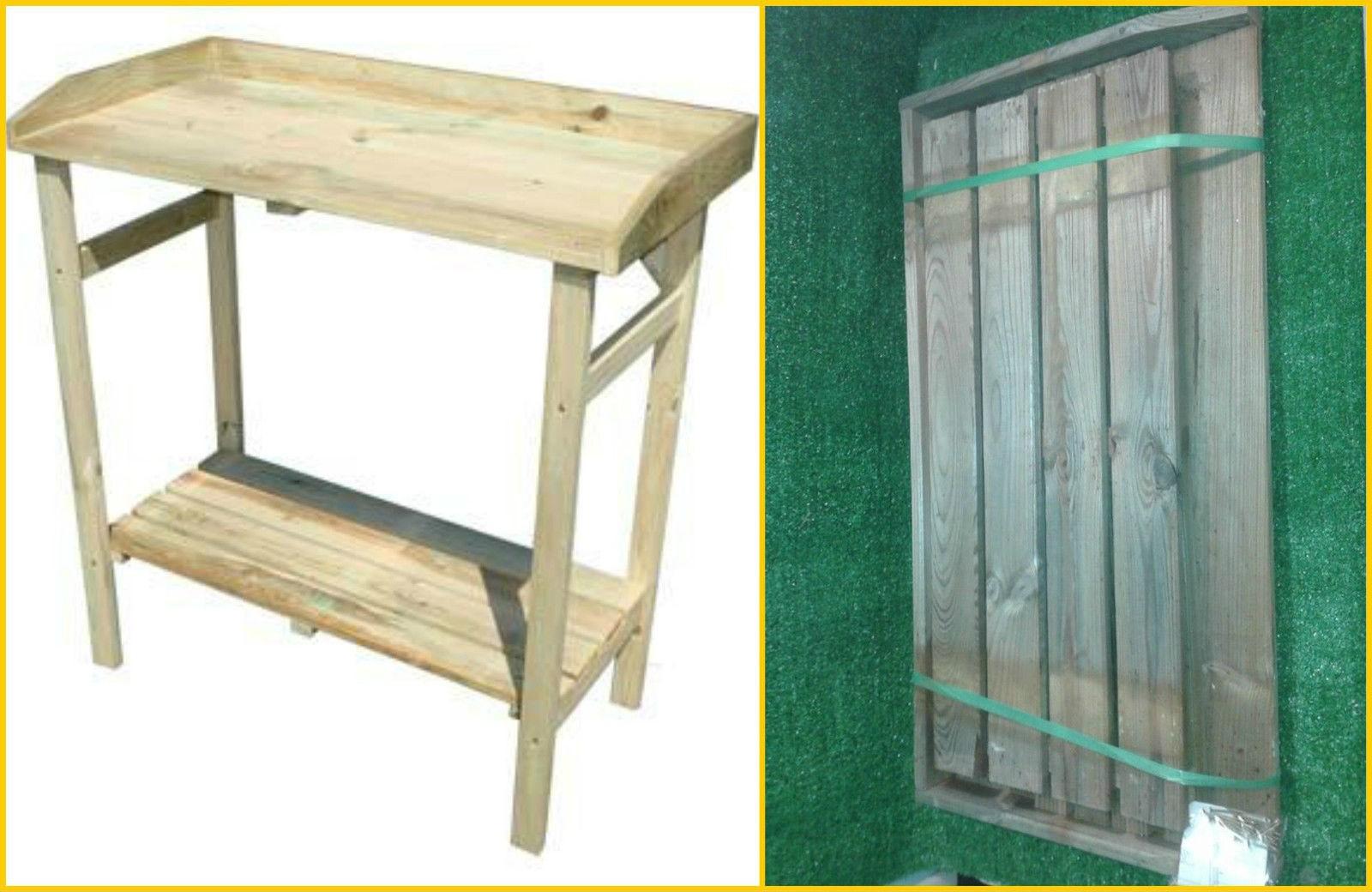 Tavolo Esterno Fai Da Te banco lavoro in legno eco 80x40x85 banchetto tavolo cavalletto fai da te