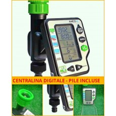 Centralina digitale irrigazione programmatore Amico  giardino