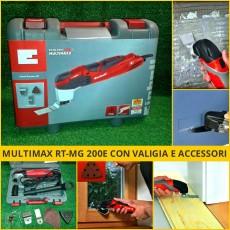 Multimaxx RT-MG 200e Utensile multifunzione, smerigliatrice, sega, levigatrice