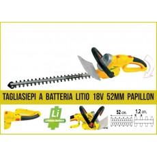 Tagliasiepi a batteria Papillon Tsc 52/12 papillon