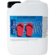 Flocculante liquido per piscine