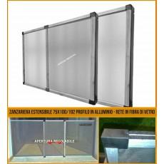 Zanzariere estensibili finestra grande 70x100/193 telaio regolabile allungabile