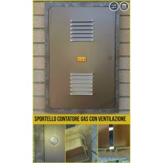 Sportelli contatore gas in vetroresina color rame