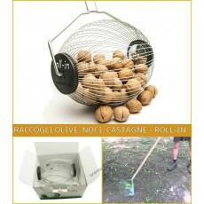 RACCOGLI NOCCIOLE CASTAGNE NOCI OLIVE ROLL-IN ROLL IN SMALL - RACCOGLITORE OLIVE