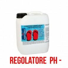 Correttore pH per piscine regolatore pH meno