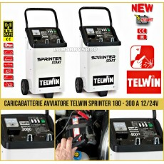 Caricabatterie Avviatore Boost 12/24v Telwin Sprinter