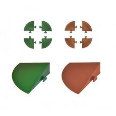 Angolari per piastrelle autobloccanti cm.5 x 5 x h.2,5