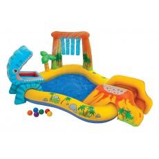 Piscina gioco Gonfiabile per bambini Dinoland 57135