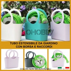 Tubo estensibile da giardino MAGIC allungabile con borsa 2.5-7.5 mt