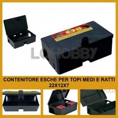 Topo Box Medy, contenitori esche topicide topi medi