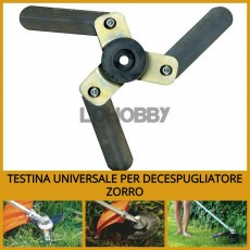 Lama per decespugliatore universale Zorro 3 lame