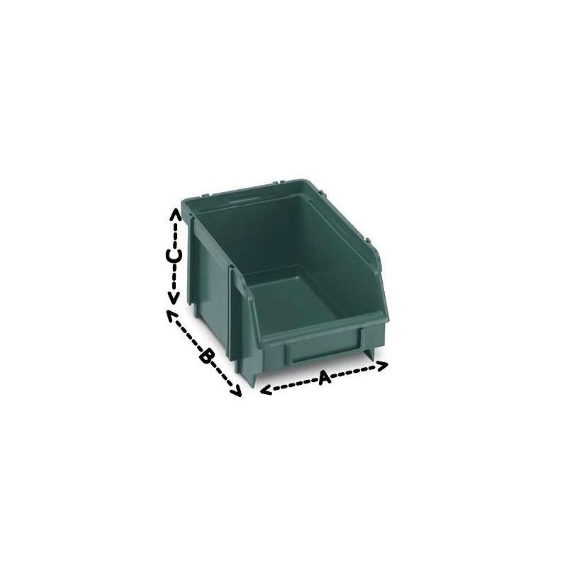 Contenitori sovrapponibili 104x165x76