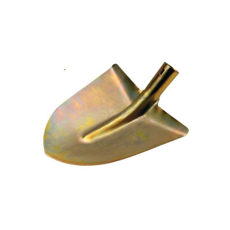 Badile Acciaio Tropicalizzato S/Manico Oro