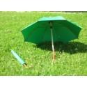 Ombrelli da campagna in cotone verde