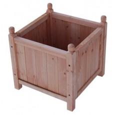 Fioriere quadrate in legno  tipo Asia