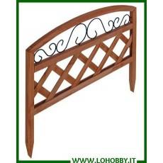 Staccionate in legno ferro